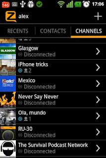 Zello Android - Aplikasi Walkie Talkie layaknya interkom / telpon gratis
