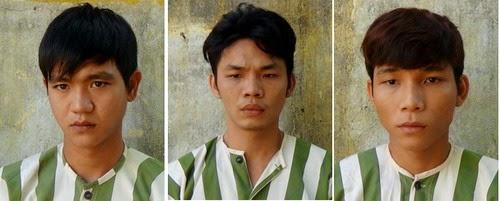 Bắt nhóm cướp trên đê Hà Thanh