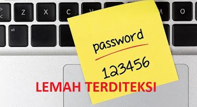 BUKTI, Ternyata Masih Banyak Orang Yang Mempergunakan Kombinasi Password Lemah Ini