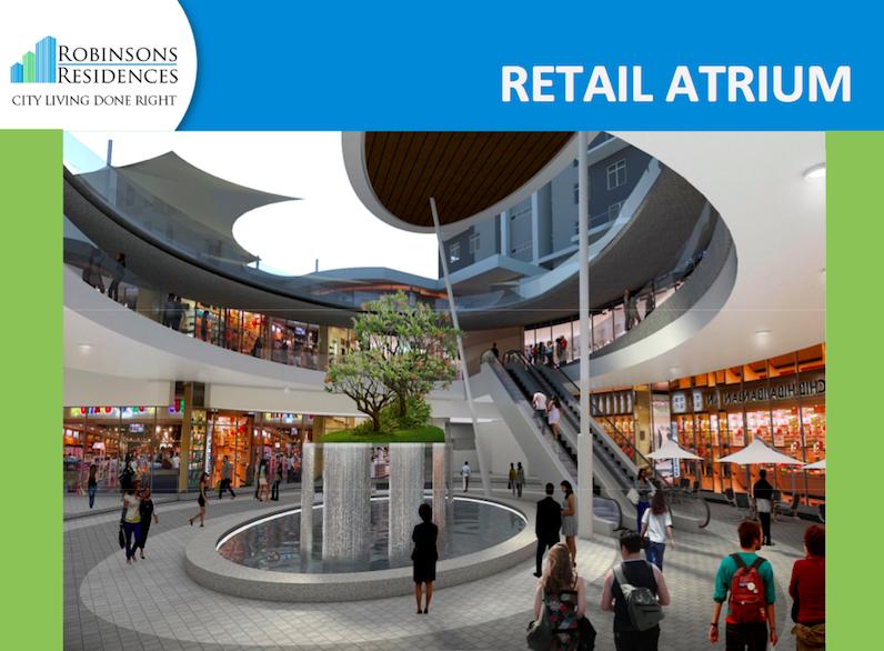 Delta Residences Davao - Retail Atrium