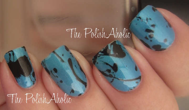 The PolishAholic: Revlon Nail Art StyleStrips: Splatter Paint