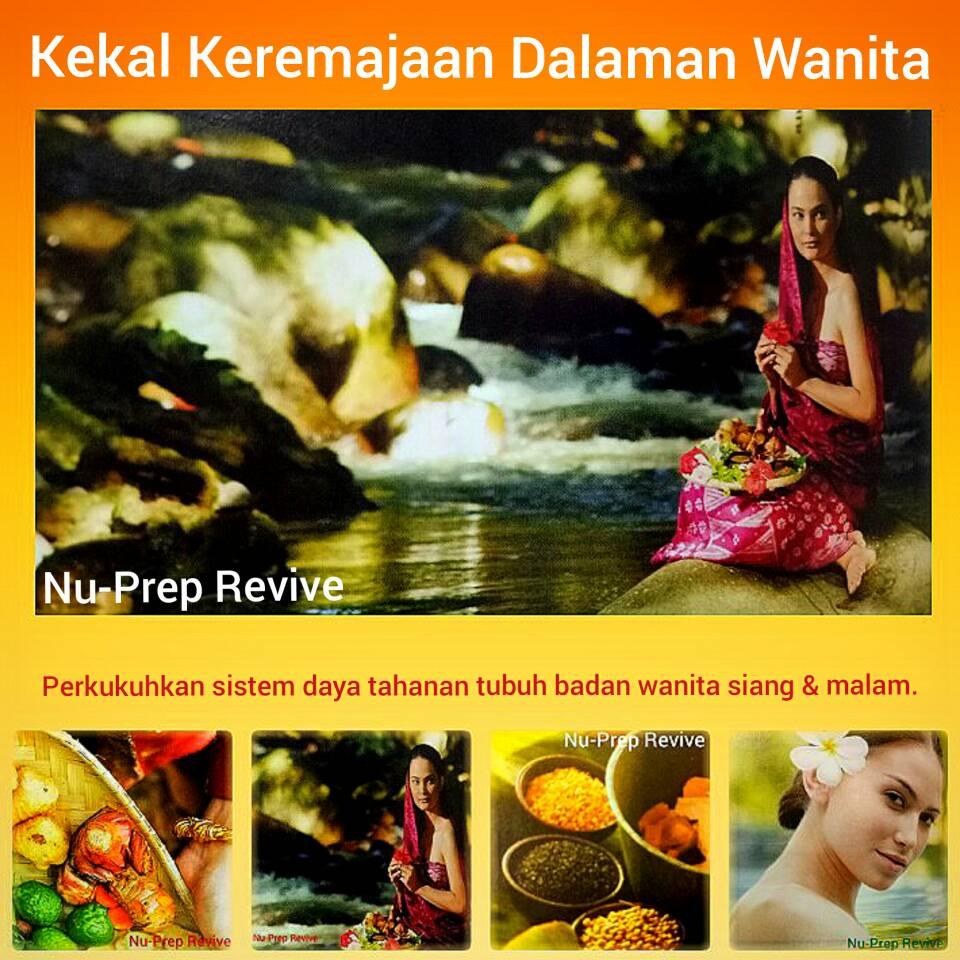 Nu-Prep Revive terbaik untuk wanita. Terbukti secara klinikal.