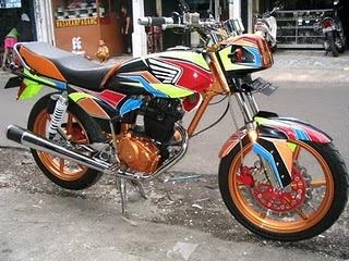 Modifikasi Motor Yamaha Rs 100