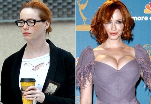 christina_hendricks sans maquillage