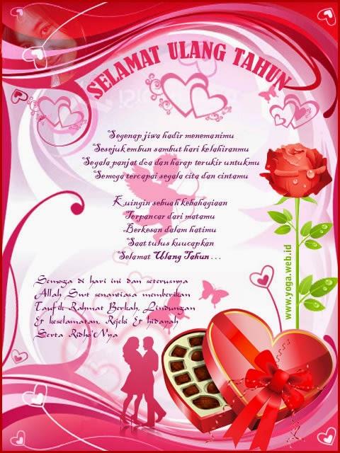 Kata Romantis Ucapan Selamat Ulang Tahun