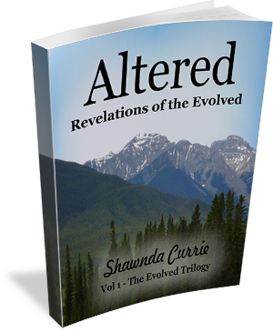 Book Cover: Altered - Revelations of the Evolved  by Shawnda Currie