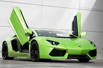 Images Of Cars: Carsandgirlsslamborghini Aventador Lime ...