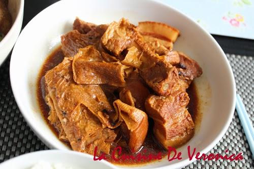 La Cuisine De Veronica 南乳枝竹炆腩肉