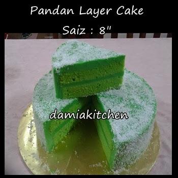 Pandan Layer Kek