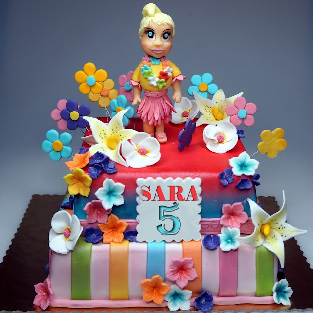 Tiered Children Birthday Cake - London Cakes