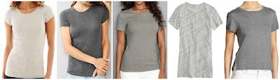 Stylus Short Sleeve Ribbed Solid Crewneck T-Shirt $5.99 (regular $14.00)  Gap Favorite Short Sleeve $10.00 (regular $16.95)  Eddie Bauer Short Sleeve Favorite Crewneck T-Shirt $12.00 (regular $20.00)  J. Crew Tissue T-Shirt $25.00 (regular $29.50)  Feel The Piece Corbin Crewneck Tee $33.60 (regular $84.00)
