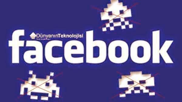 Facebook spam temizleme
