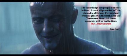Roy Batty, el replicante rubio de Blade Runner