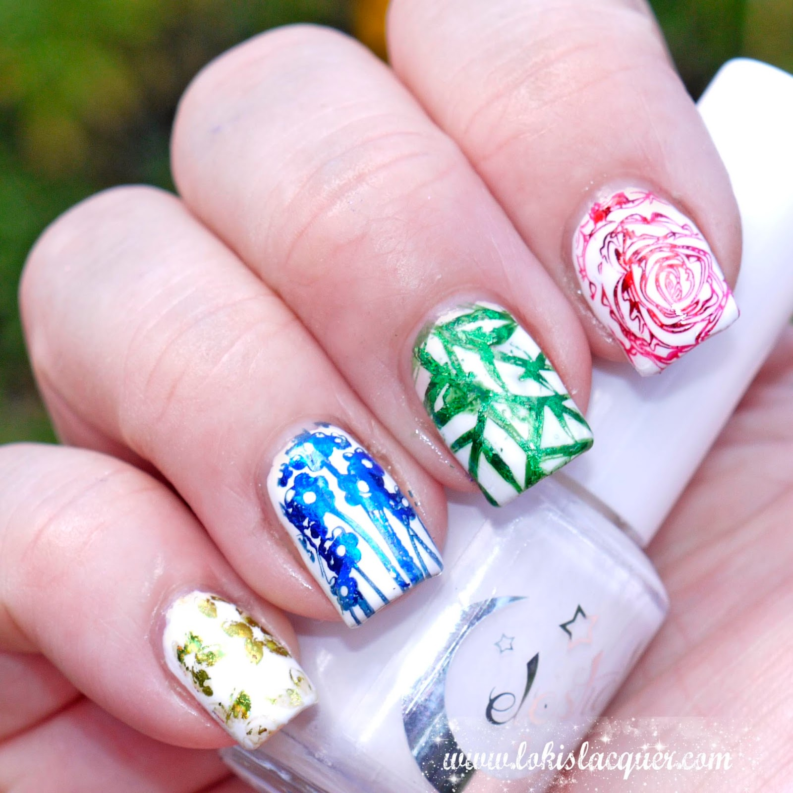 Using Nail Foils With Stamping