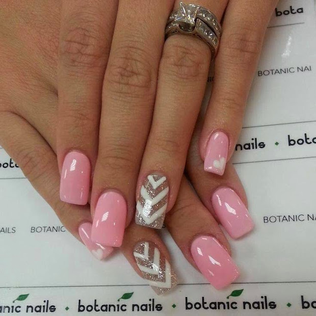 lazy girl nail art ideas