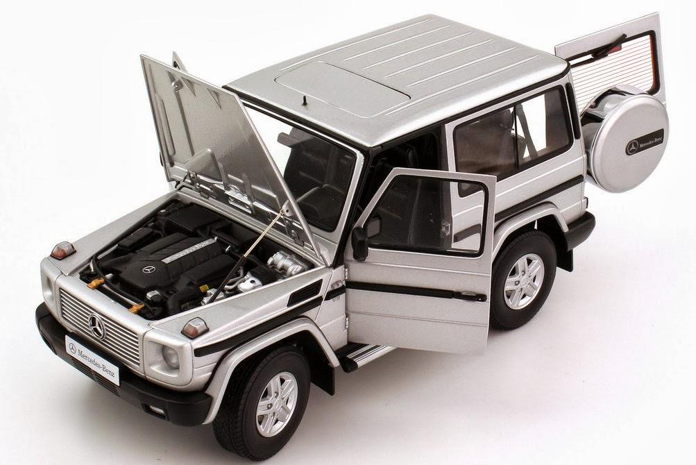 modellauto mercedes g modell g 500 1989 in 1 18 im test. Black Bedroom Furniture Sets. Home Design Ideas