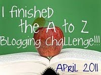 I Survived the A-Z Challenge!