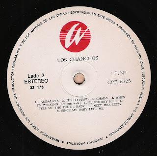 Los Chanchos : Idem (1988)