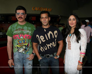Salman Khan, Aditya Pancholi and Kareena