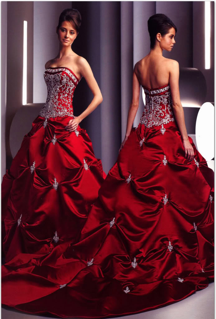 White Black And Red Wedding Dresses - Wedding Dresses In Jax