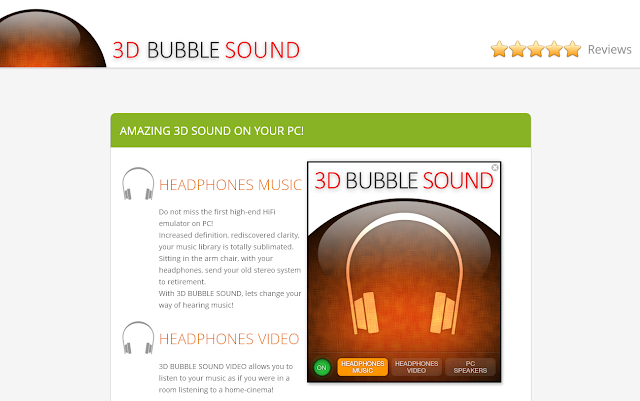 3D Bubble Sound