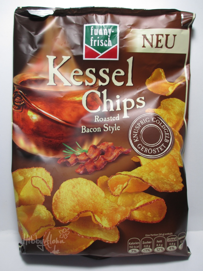 "FoodFriday Shopping] Funny Frisch Kessel Chips ""Roasted Bacon Style ..."