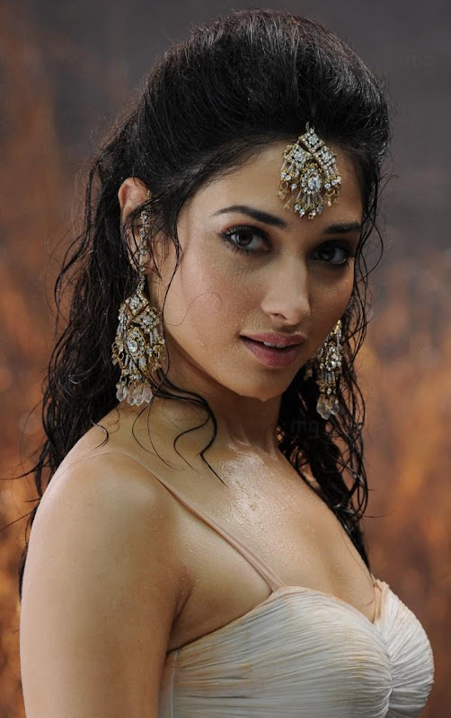 Tamanna hot stills in Badrinath with Allu Arjun hot images