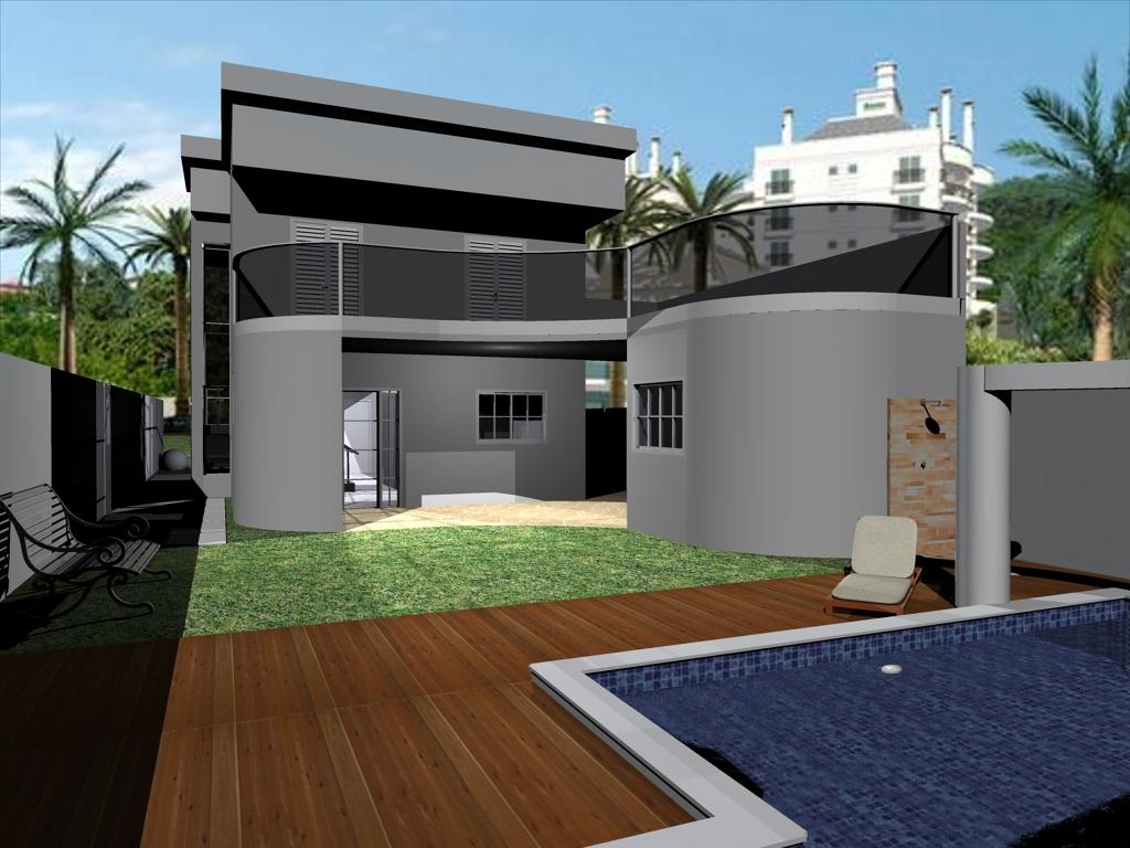 Vivicad casa moderna criada em terreno de 300m for Casa moderna 7 mirote y blancana