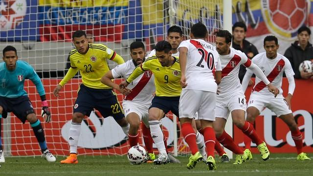 Em jogo fraco, Colômbia e Peru empatam pela Copa América