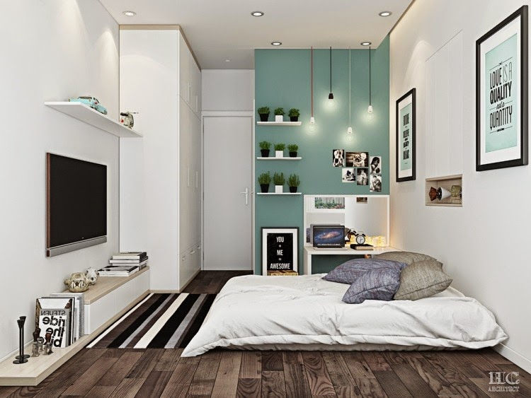 Moderna habitaci n matrimonial dormitorios colores y estilos - Decoracion habitacion moderna ...