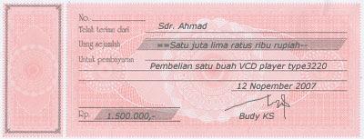 Ilmu Pengetahuan Dokumen Transaksi
