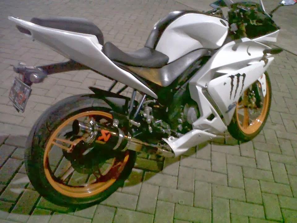 Modifikasi Yamaha New Vixion Lightning