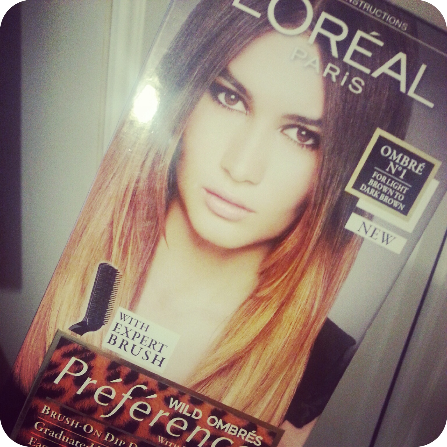 Ombre Hair at Home