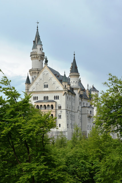 Neuschwanstein Castle from the forest