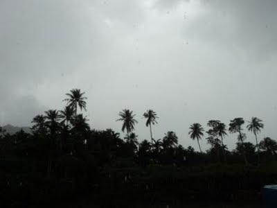 hujan, gerimis