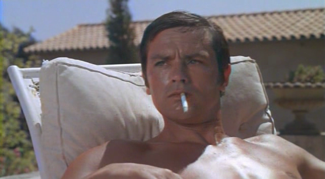 Ithankyou under the surface tension la piscine 1969 for Alain delon la piscine