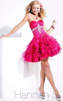Кукленска рокля в тъмнорозово, дизайн Hannah S