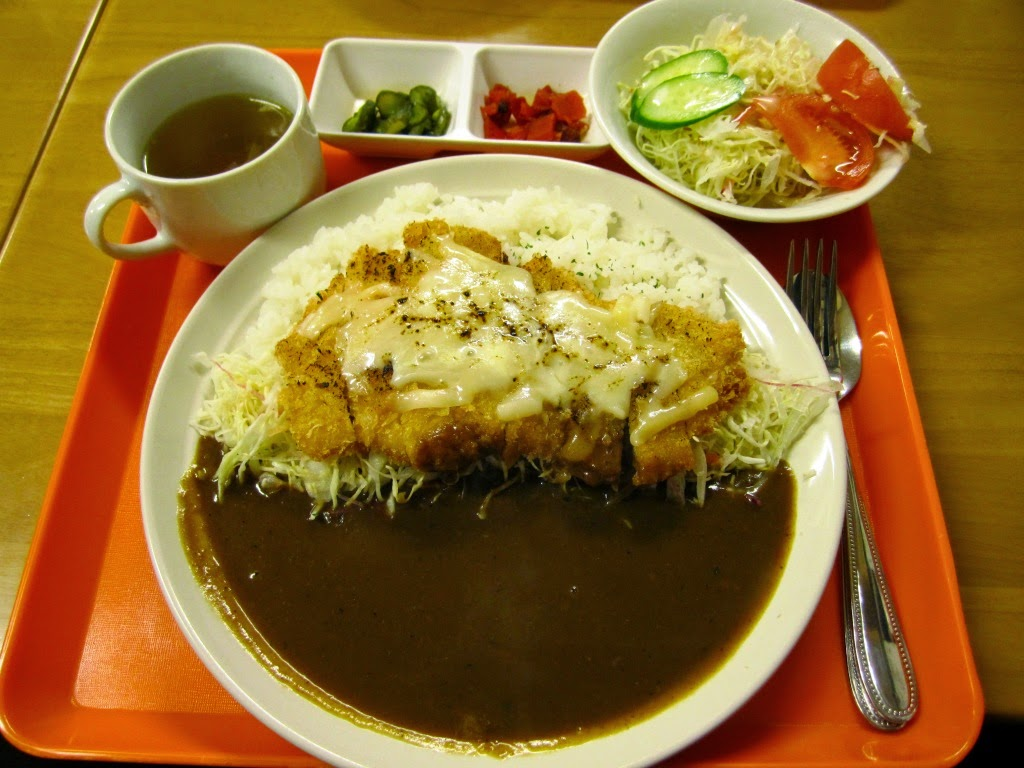 Cheese Cutlet Curry Tanchatei Towada チーズカツカレー たんちゃ亭 十和田市