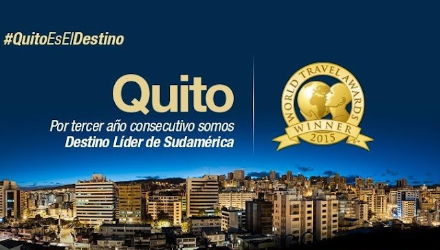 Quito ganador del World Travel Award