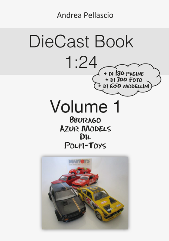 DieCast Book 1:24 Volume 1 ***BUY IT***