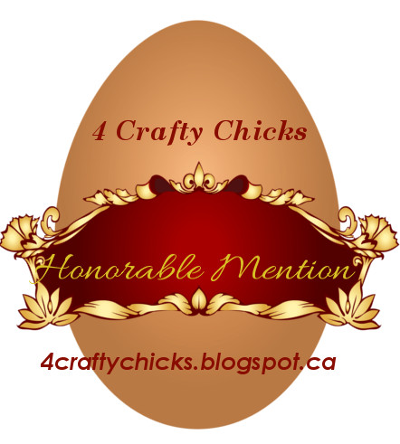 4 Crafty Chicks challenge