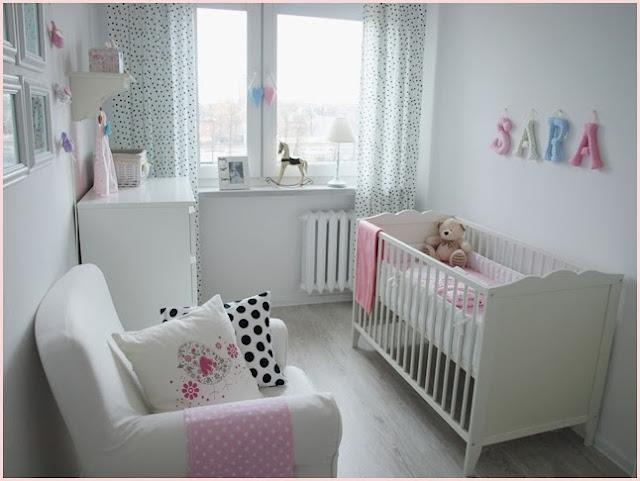 skandynawski pokój dla dziewczynki