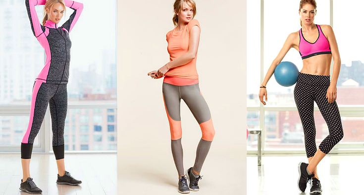 Wear atheltic clothing that can stretch and breathe as you move.