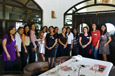 Group photo with mommy bloggers and Anmum friends