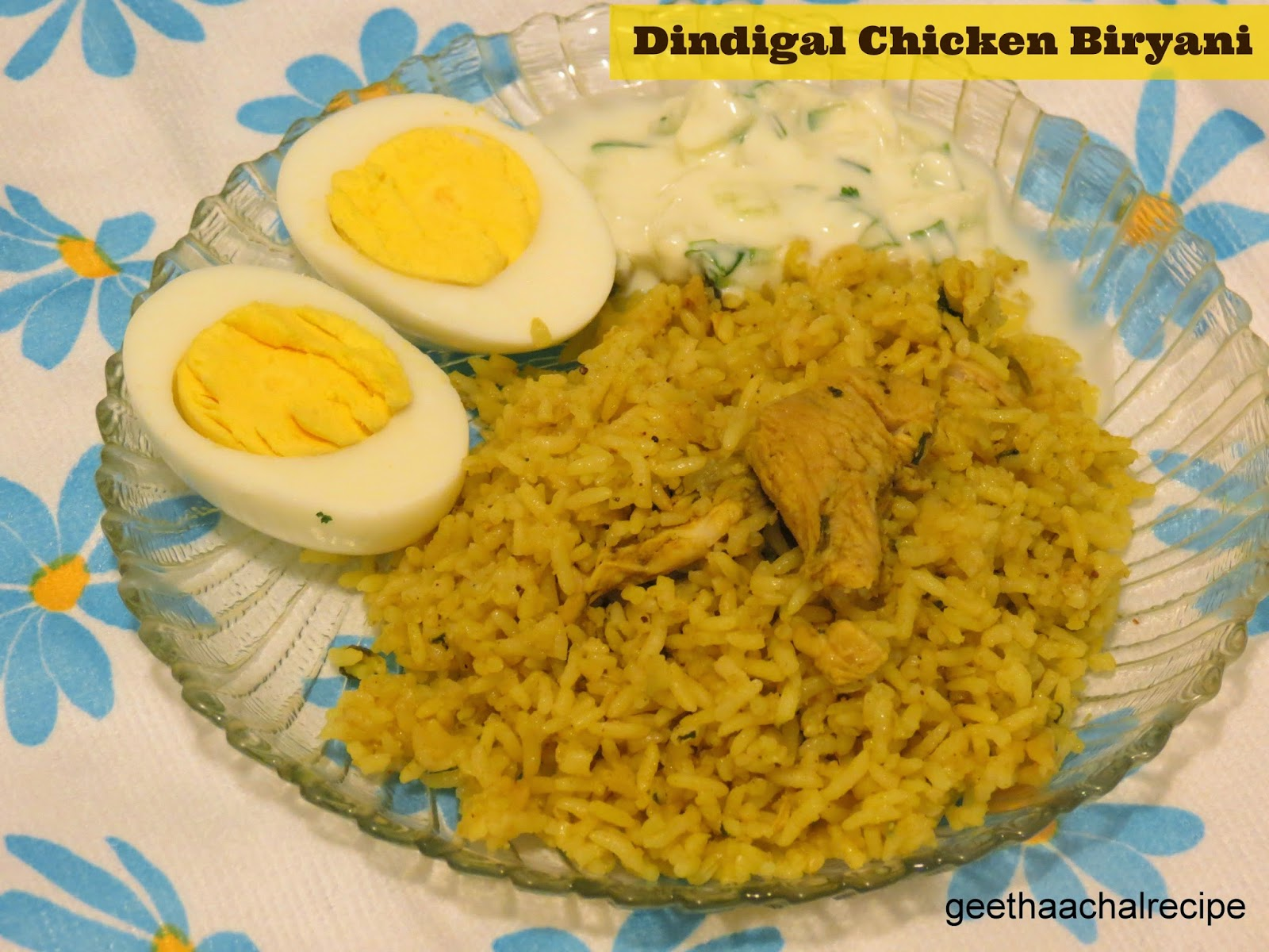 Dindugal Chicken Biryani