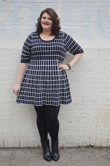 Outfits de vestidos para gorditas