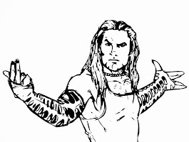 Wwe Jeff Hardy Coloring Pages