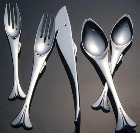 Balık şekilli çatal kaşık bıçak resimleri
