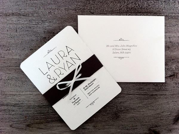 35 Creative Wedding Invitation Designs For Inspiration - Jayce-O-Yesta