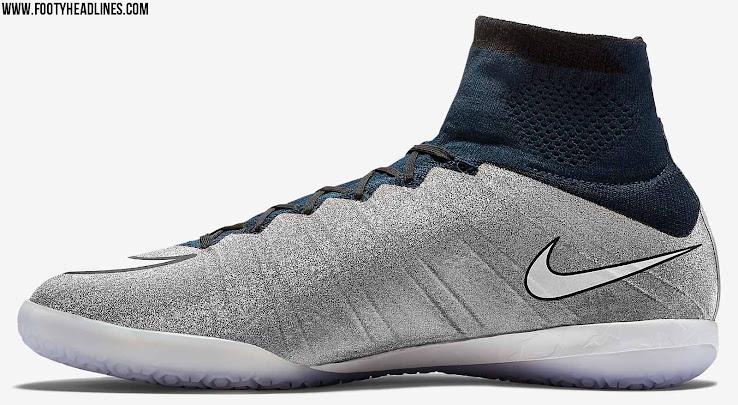 Giày đá bóng Nike Mercurial X Proximo SE CR7 Silver 2